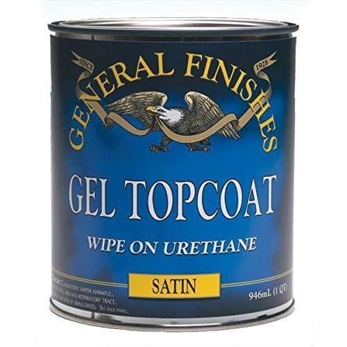 General Finishes SQ Gel Topcoat, 1 quart, - Finish Coat