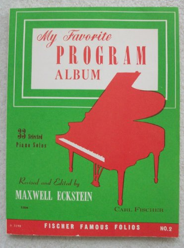 (My Favorite Program Album; 33 Selected Paino Solos)