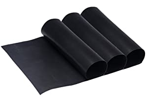 "Tebery Reusable Large Non-Stick Oven Liners Certified BPA and PFOA Free,16"" x 23"" (3 Pack)"