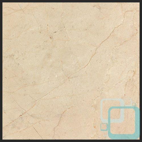 (Crema Marfil 12x12 Honed Marble Tile )