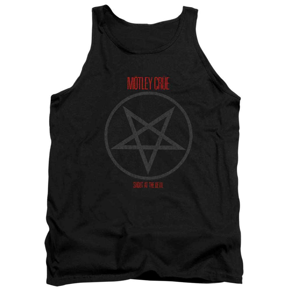 Motley Crue Shout at The Devil Unisex Adult Tank Top for Men and Women