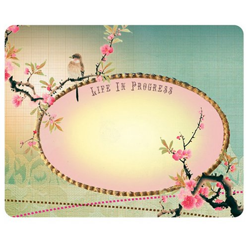 ''Life in Progress'' Memo/mouse Pad 7'' By 9'' by Papaya (Image #1)