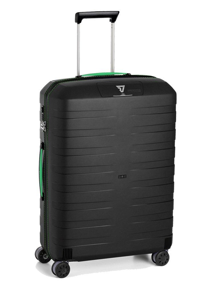 (ロンカート) RONCATO スーツケース 5513 51cm BOX B07CXGTHXZ 【09】グリーン/ブラック 【09】グリーン/ブラック