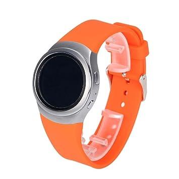 Correa de silicona Fulltime (TM) para reloj inteligente Samsung Galaxy Gear S2SM