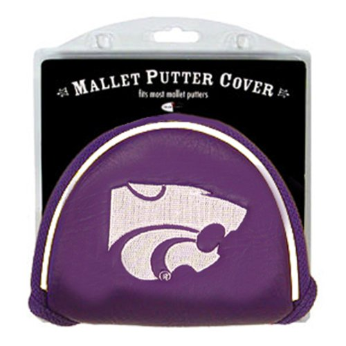 Team Golf NCAA Kansas State Wildcats Golf Club Mallet Putter Headcover, Fits Most Mallet Putters, Scotty Cameron, Daddy Long Legs, Taylormade, Odyssey, Titleist, Ping, Callaway - National Cat Club
