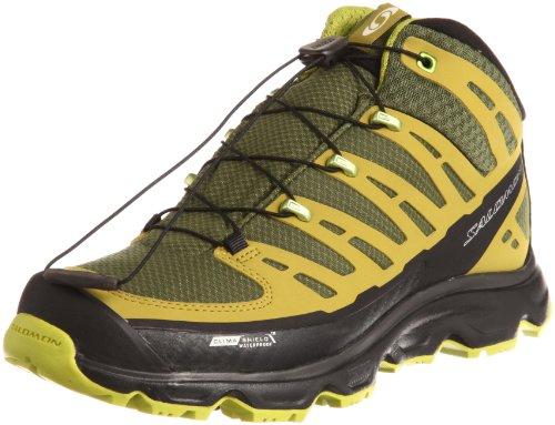 Salomon Men's Synapse Mid CS Hiking Boots,Winter Green/Black/Dark Green,10 M US