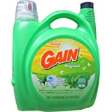 Gain with FreshLock for High Efficiency Machines Original Liquid Detergent, 170 Fl. Oz - 110 Loads