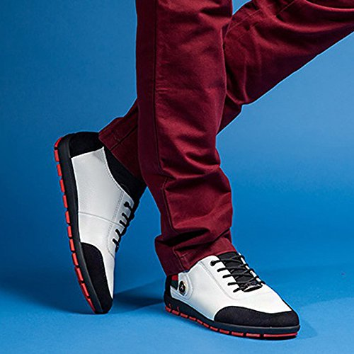 AARDIMI Chaussures à Lacets Homme Weiß ID6a1DZ3fz