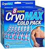 Cryo-MAX Reusable Cold Pack 8 Hour Large, 12 X 12 - Each, Pack of 6