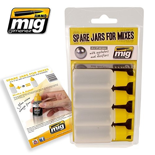 Ammo of Mig Jimenez Spare Jars for MIXES #8004