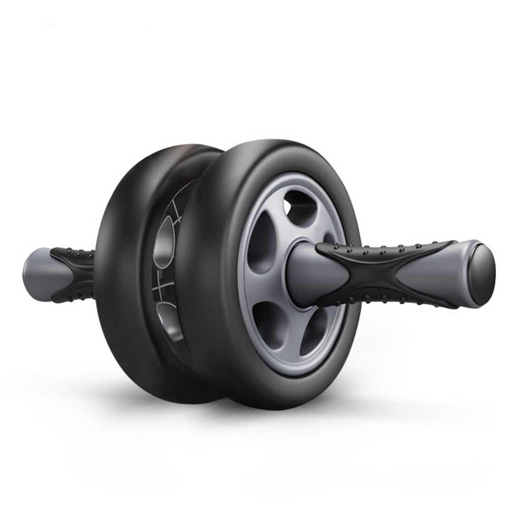 SYT Fitness Kein Lärm Abdominal Wheel Doppel-Rädern Ab Roller Trainer Fitnessgeräte Gym Übung Männer Bodybuilding