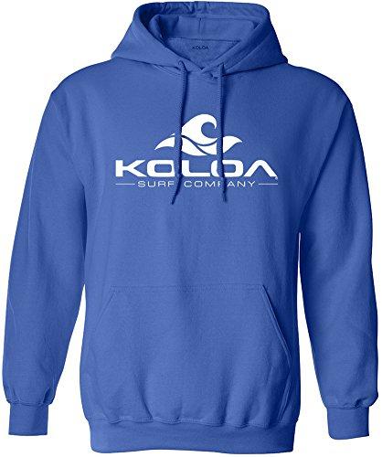 - Koloa Surf Wave Logo Hoodies - Hooded Sweatshirt, M-Royal/w