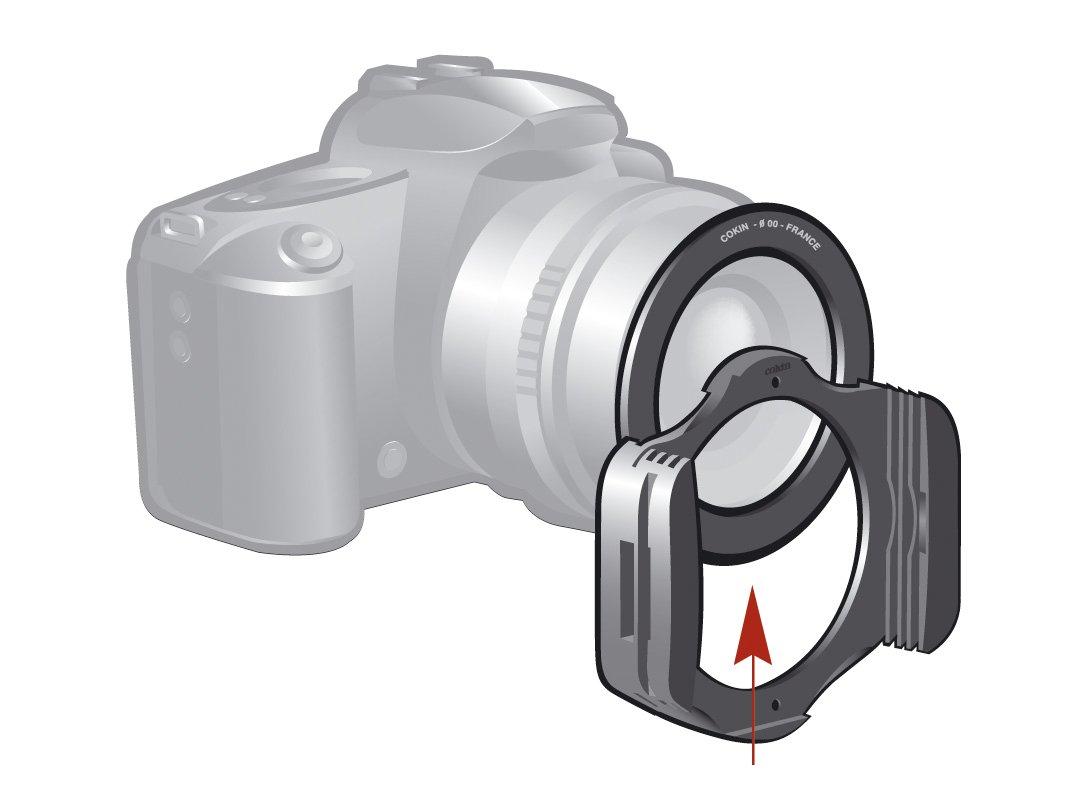 """Nero Cokin P462 Anello Adattatore con Sistema Creativo a /""""P/"""" Diametro da 62mm"""