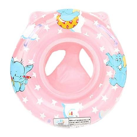 DDG EDMMS Inflable del bebé de la Cintura de baño Infantil Flotador Inflable Anillo impresión Linda