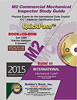 M2 commercial mechanical inspector quickpass study guide based on m2 commercial mechanical inspector quickpass study guide based on 2015 imc builders book inc 9781622701148 amazon books fandeluxe Images