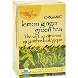 Uncle Lees Tea Organic Imperial Lemon Ginger - Antioxidant power - Naturally Refreshing - 18 Bags (Pack of 2)