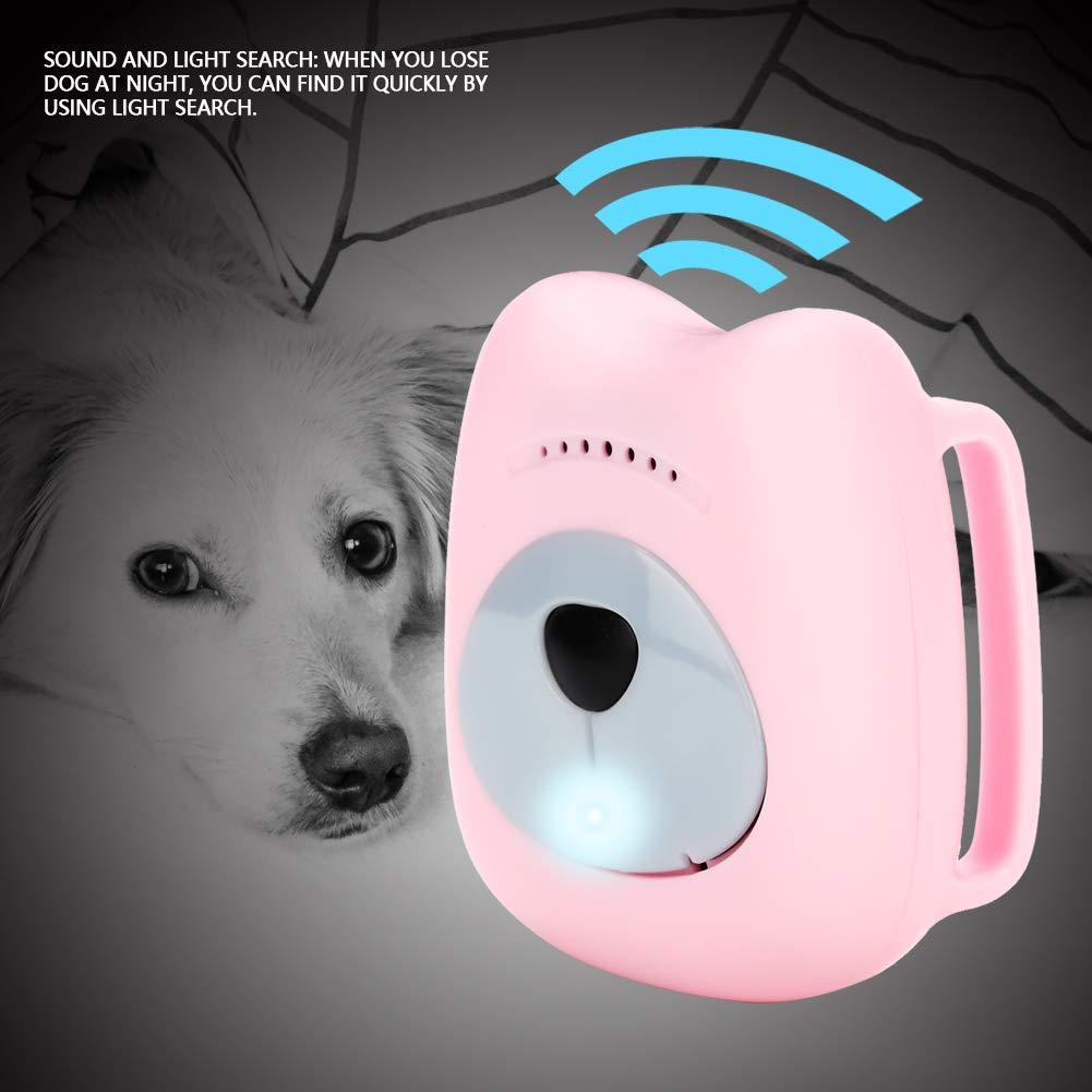 Pssopp Rastreador de Mascotas Perro Impermeable Rastreo GPS ...