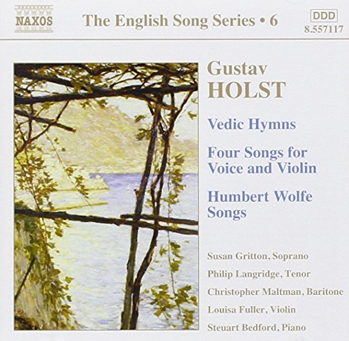 UPC 747313211722, The English Song Series 6: Holst