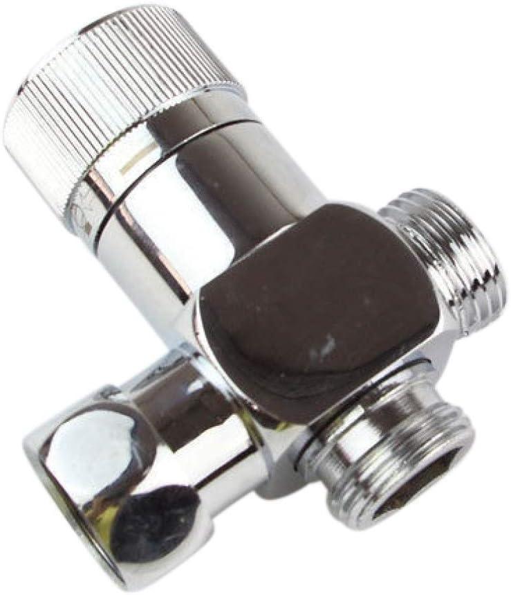 Ventil6B Ventil Umschalter 1//2 AG zu 1//2 IG 2-Wege Umstellventil für Aufputz