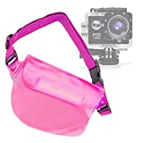 DURAGADGET Pink Durable Water-Resistant Travel Pouch-Style Case - Compatible with The GBB Action
