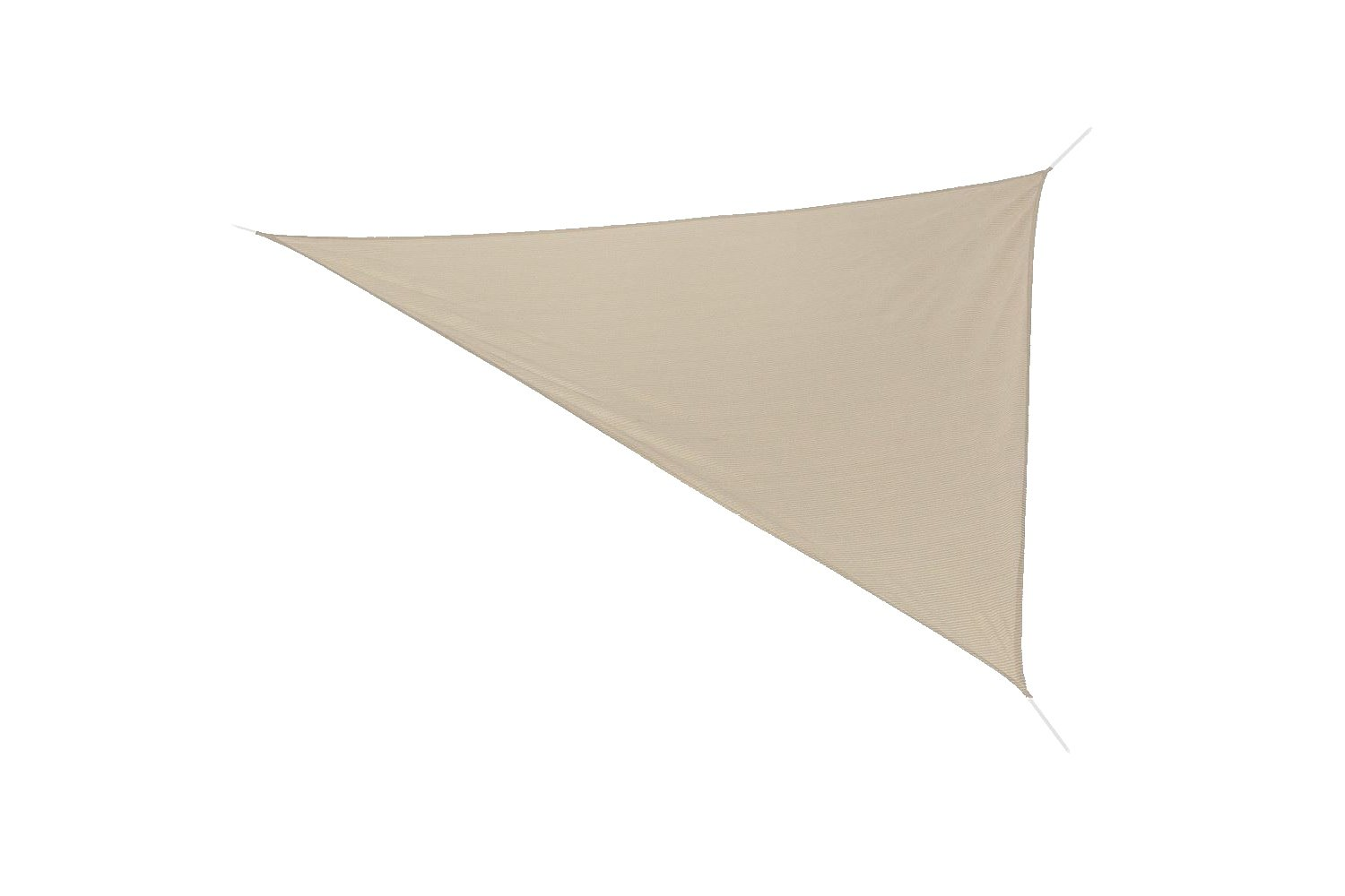 Coolaroo Ready to Hang Shade Sail Triangle 11ft 10in Smoke