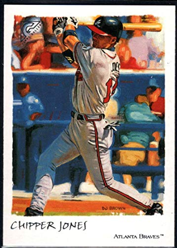 Baseball MLB 2002 Topps Gallery #23 Chipper Jones Braves ()
