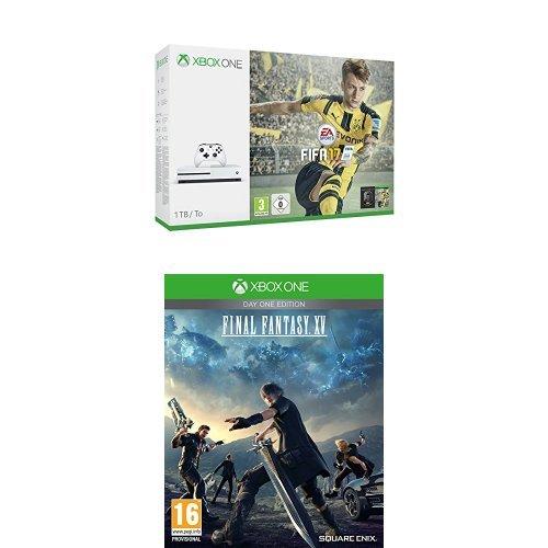 Xbox One - Consola S 1 TB + FIFA 17 + Final Fantasy XV Day ...