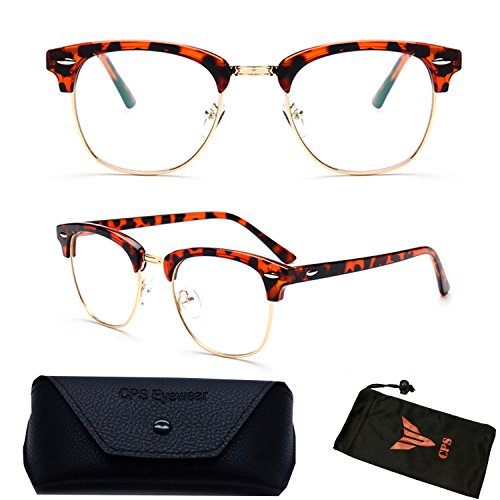 (#RF9053) Premium Quality Clubmaster Retro Reading Glasses (Strength: - Glasse Nerd