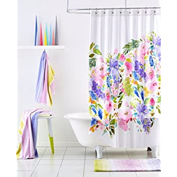 BlueBellGrey Wisteria Shower Curtain