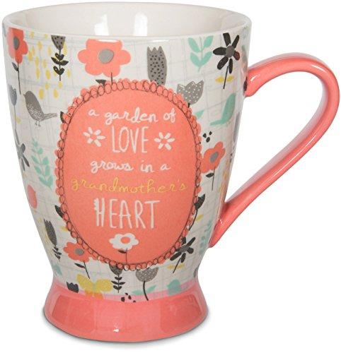 Ceramic Grandma Mug (Pavilion Gift Company 74034 Grandmother Ceramic Mug, 16 oz, Multicolored)