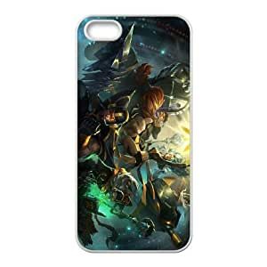 iPhone 5 5s Cell Phone Case White League of Legends Fnatic Jarvan IV OIW0420204