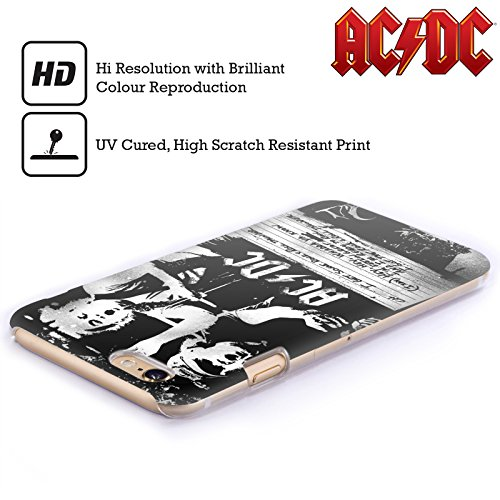 Officiel AC/DC ACDC Tonnerre De Rock 'n' Roll Paroles Étui Coque D'Arrière Rigide Pour Apple iPhone 3G / 3GS