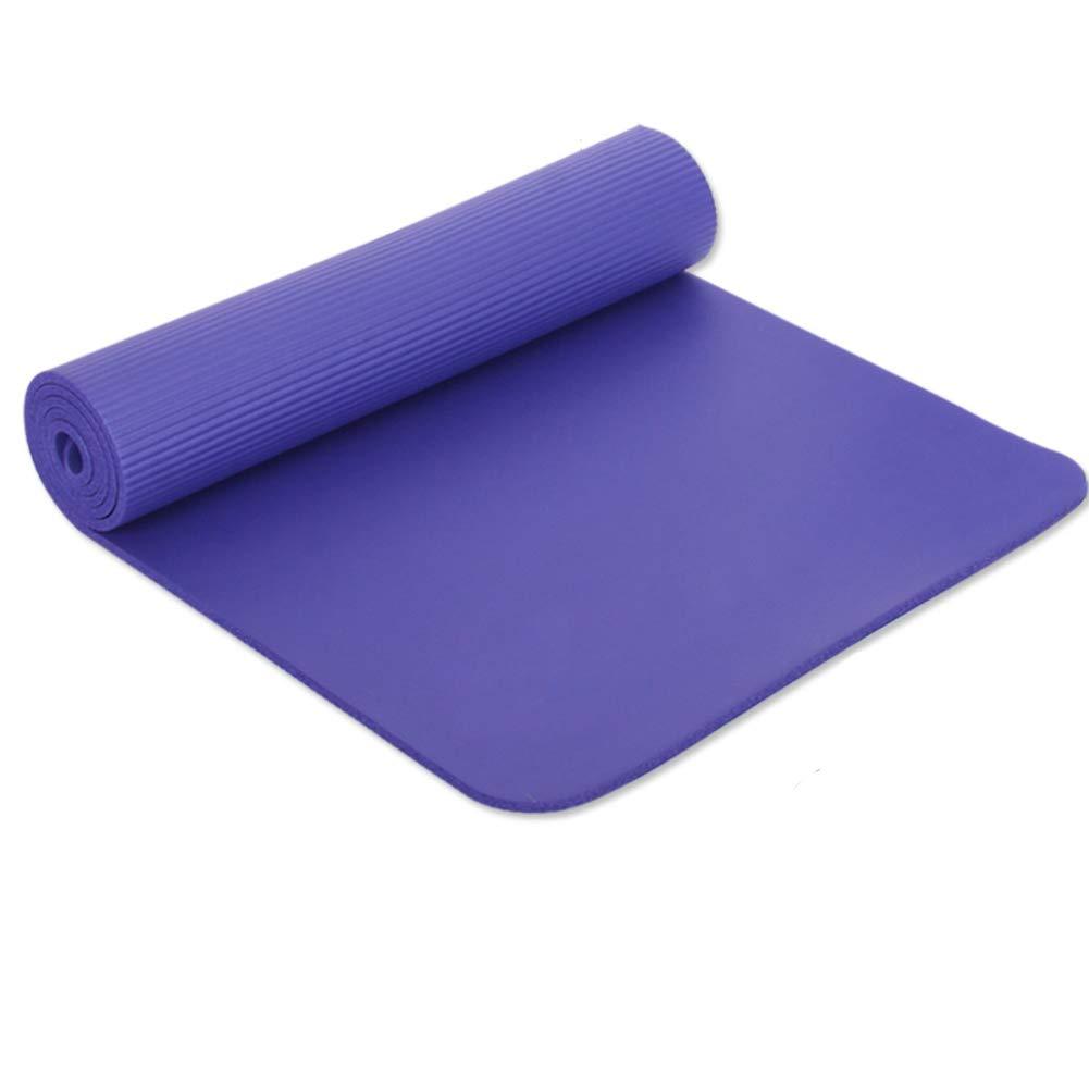 JILI Verlängert Verbreitert Doppelte Yogamatte, Resilienz-texturen Anti-Skid High-Density Anti-riss Fitness-Matte, Schnell Erholt Leicht Zu Reinigen Gymnastikmatte
