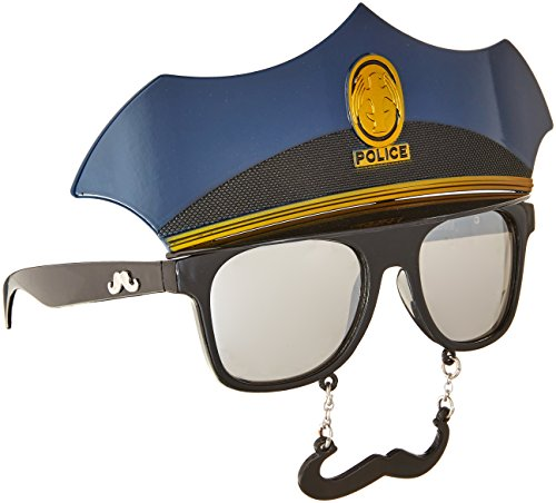 Police Officer Sunstaches - Officers For Sunglasses Police