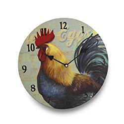Rooster Kitchen Wall Clock 13