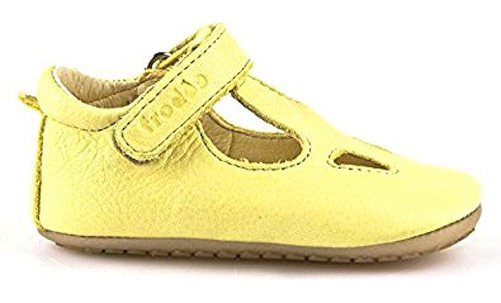 fille jaune jaune Froddo Chaussures souples pour b/éb/é