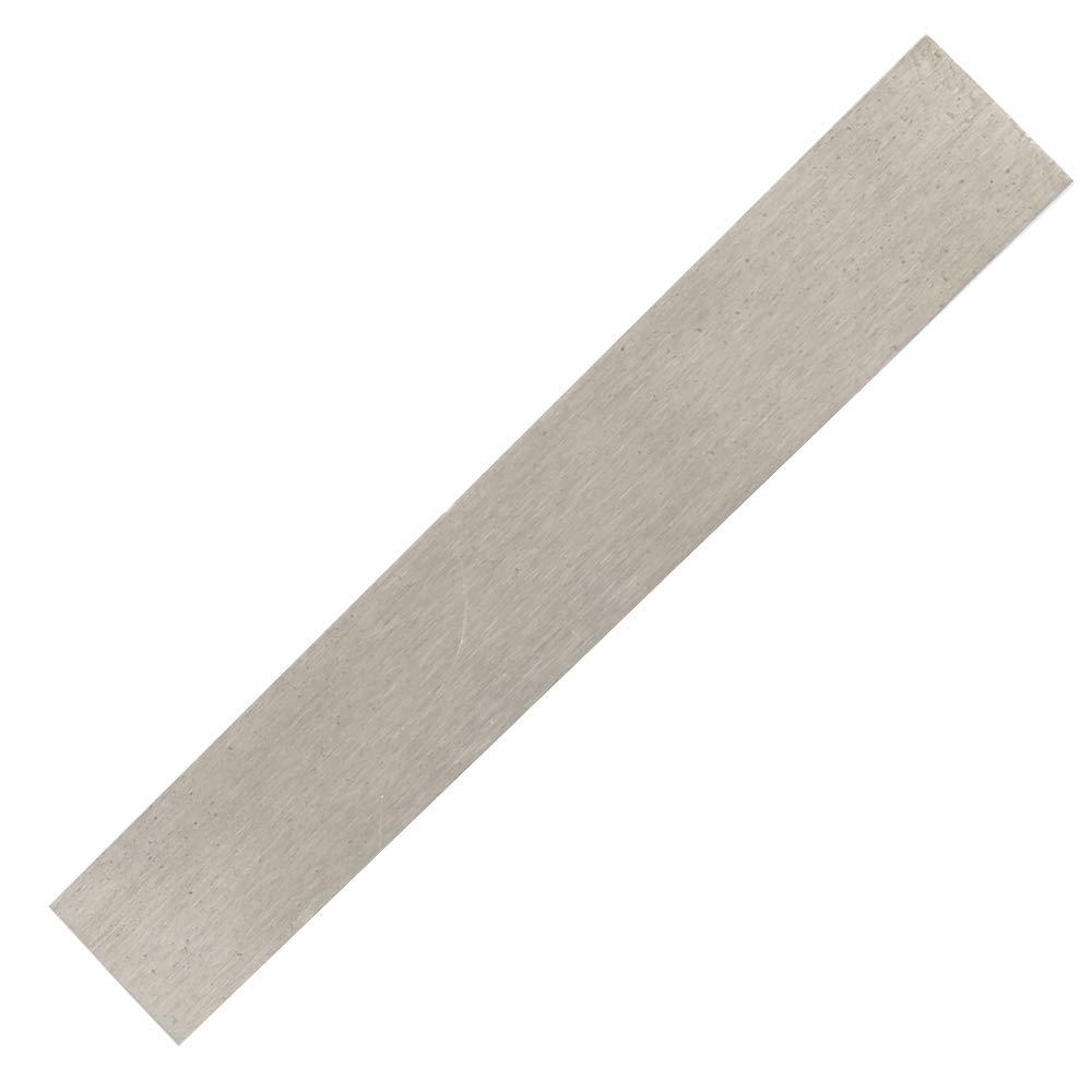 feuille d/électrode de nickel pure de 152 mm x 25 mm x 1 mm /à 99,6/% pour le nickelage de bricolage et l/électrod/éposition de nickel Anode de nickel /électrode de nickel de grande puret/é