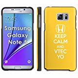 VTEC YO - Mobiflare Samsung Galaxy Note 5 Slim Guard Armor Black Phone Case [INCLUDES Ultra Clear Screen Protector]