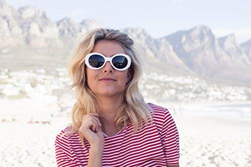 Gafas Blanco1 Cobain Vintage Gafas UV400 Cheapass Kurt protección Sol de de Sol qwP7xaYAT