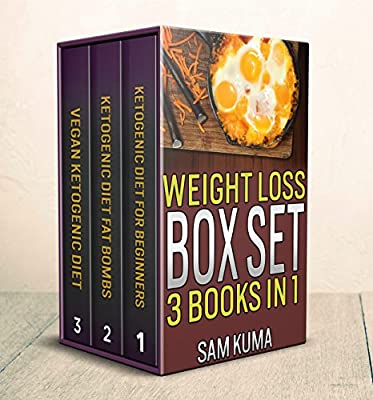 Weight Loss Recipes Box Set of 3 Cookbooks in 1: 200+ Smart, Healthy Eating Recipes of Ketogenic, Vegan and Fat Bomb Diet Plans (Lose Your Belly Fat through ... Burning Recipes for Healthy Weight Loss)