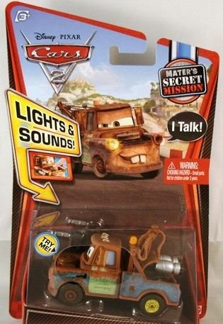 Mattel Disney Pixar Cars 2, Exclusive Lights & Sounds Spy...