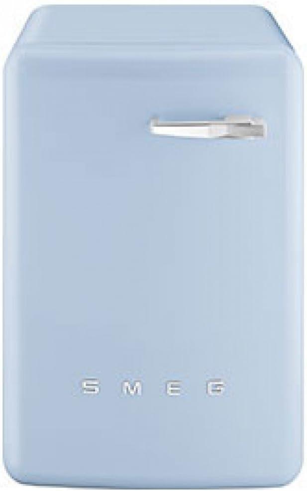 SMEG 50's Retro-Style - Máquina de lavado, color azul pastel