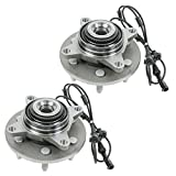 Front Wheel Hub & Bearing Assembly Pair Set for Expedition Navigator 4WD