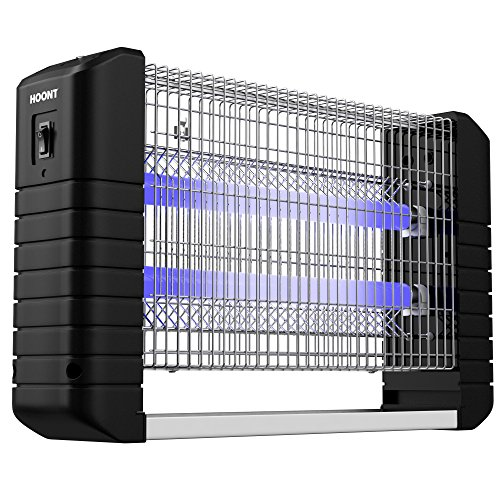 Hoont Powerful Electric Indoor Bug Zapper and Fly Zapper/Catch, Kill & Trap - Covers 6,000 Sq. Ft/Fly & Bug Killer, Insect Killer, Mosquito Killer - For Residential, Industrial & Commercial Use (Commercial Insect Killer)