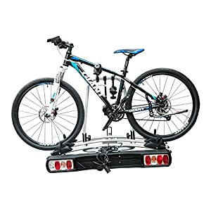 HOMCOM Bicycle Carrier Rear-mo...