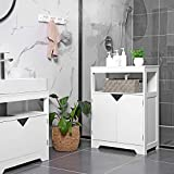 VASAGLE Bathroom Storage Cabinet, Floor Cabinet