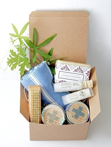 Home Spa Day Gift Basket - Gift for Women