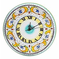 PERUGINO: Round Wall Clock [#9506-PER]