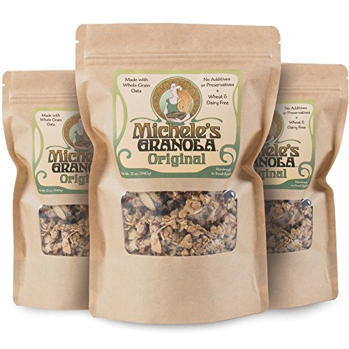 Michele's Granola Original, 12 Oz Package, Pack of 3