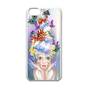 Fairy iPhone 5c Cell Phone Case-White